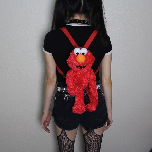 Sesame Street Handbags - ELMO mini backpack
